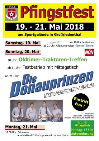 Fanclub USV Großriedenthal_Pfingstfest 2018 (A3)