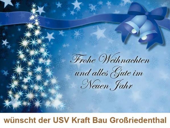 Weihnachts- u. Neujahrswünsche
